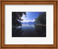 Framed Lac D'annecy