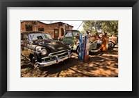 Framed Old Cars Trucks Route 66 Arizona