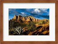 Framed Red Rocks Of Sedona