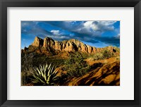 Framed Red Rocks Of Sedona