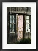 Framed Colorado Cabin Door
