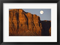Framed Vermillion Cliffs National Monument Moon