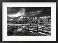 Framed Old Corral Vermillion Cliffs National Monument Arizona