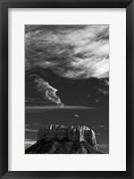 Framed Castle Rock Sedona Arizona National Forest