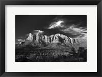 Framed Red Rocks Sedona Arizona