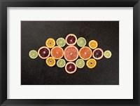 Framed Citrus Drama III