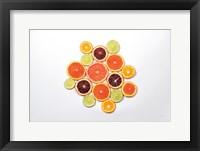 Framed Sunny Citrus I