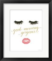 Wake Up and Make Up VIII Framed Print