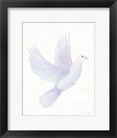 Framed Easter Blessing Dove I