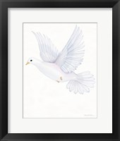 Framed Easter Blessing Dove II