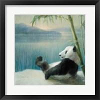 Framed Resting in Bamboo