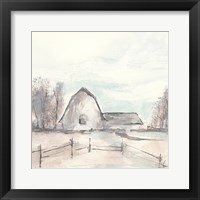 Framed Barn VIII