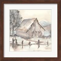 Framed Barn VII