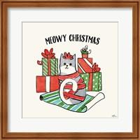 Framed Santa Paws IV