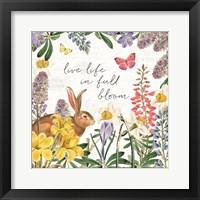 Framed Easter Garden II