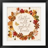 Framed Fall Garden V