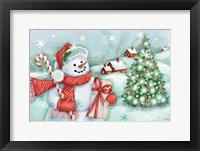 Framed Classic Snowmen I