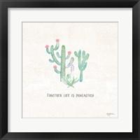 Framed Bohemian Cactus VIII