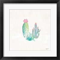 Framed Bohemian Cactus V