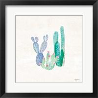 Framed Bohemian Cactus II