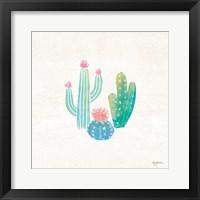 Framed Bohemian Cactus III