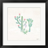 Framed Bohemian Cactus IV