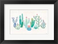 Framed Bohemian Cactus I