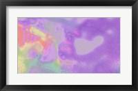 Framed Violet Strips
