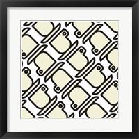 Framed Composizione Con Tazzine