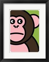 Framed Scimmia