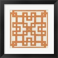 Framed Maze Motif I