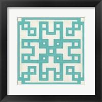 Framed Maze Motif III