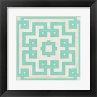 Framed Maze Motif IV
