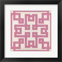 Framed Maze Motif V