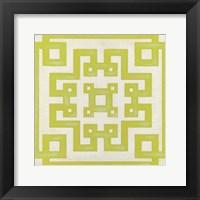 Framed Maze Motif VI