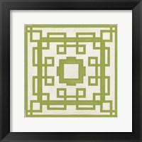 Framed Maze Motif VII