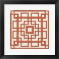 Framed Maze Motif IX