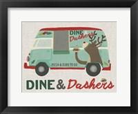 Framed Food Truck Holidays I