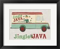 Framed Food Truck Holidays II