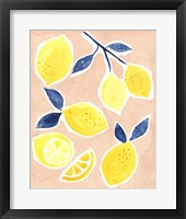 Framed Lemon Love I