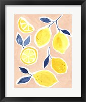 Framed Lemon Love II