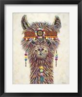 Framed Hippie Llama II