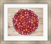 Framed Bowls of Fruit IV