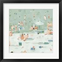 Framed Summer Confetti I