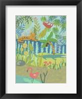 Framed Jungle Dreaming II
