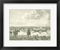Equestrian Scenes IV Framed Print