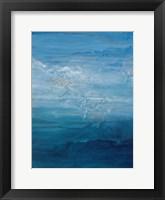 Framed Opal Sky I