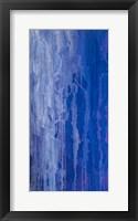 Framed Abstracted Iris Field I