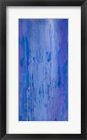Framed Abstracted Iris Field II