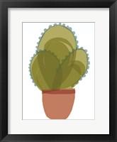 Mod Cactus I Framed Print